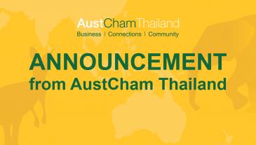 Announcement from AustCham Thailand-01