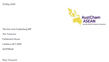 AustCham ASEAN letter