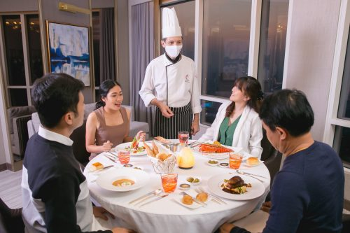 Exclusive In-Suite Dining