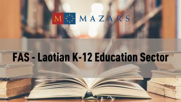 FAS - LAOTIAN K-12 EDUCATION SECTOR