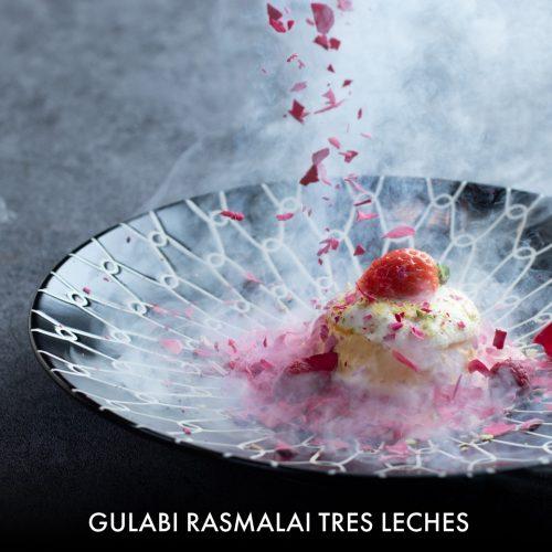 Gulabi Rasmalai
