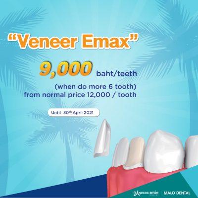 Veneer Emax Promotion 21